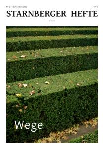 Cover des Heftes 2: Wege